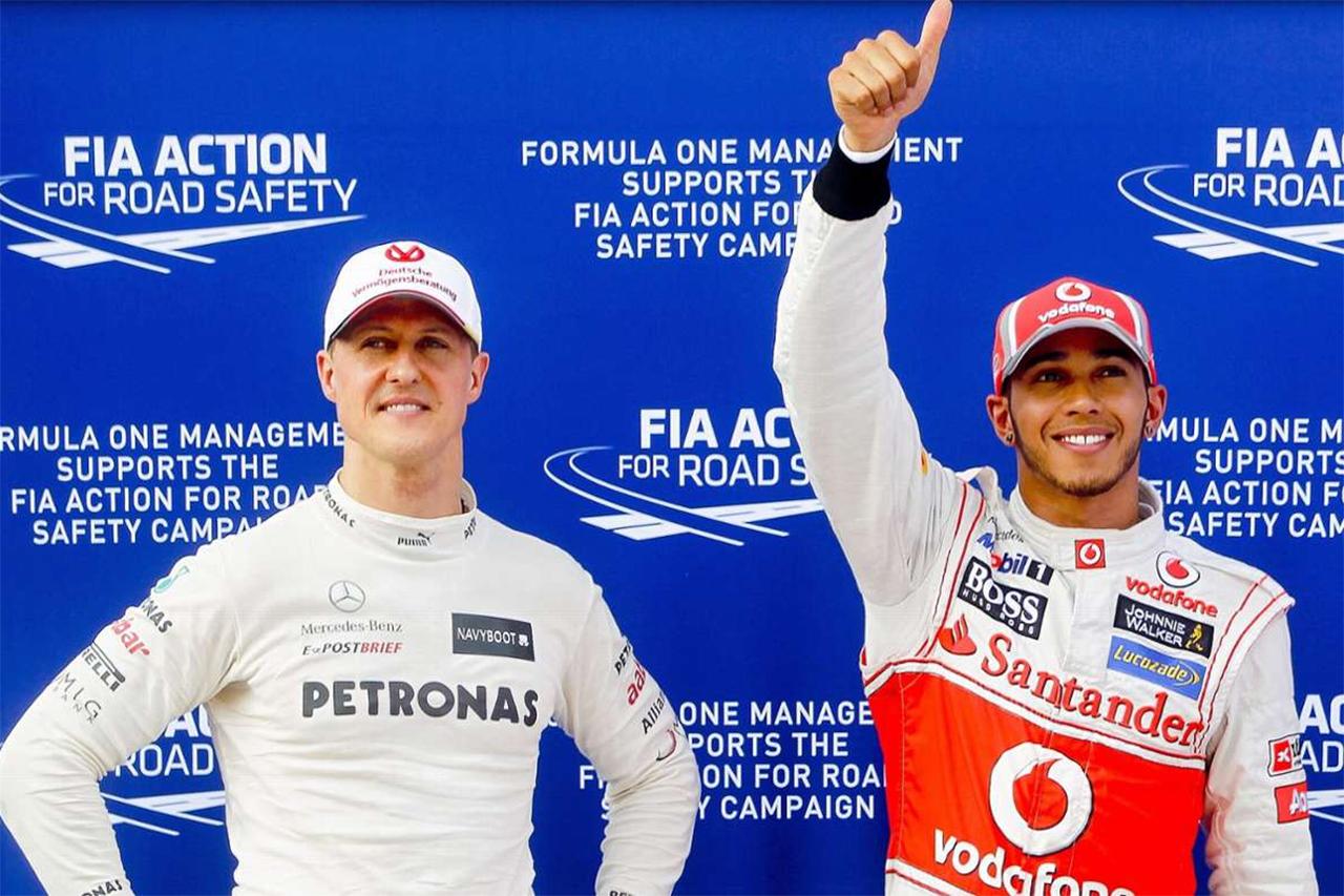 「努力のシューマッハ、才能のハミルトン」と元F1ドライバーのフェリペ・マッサ