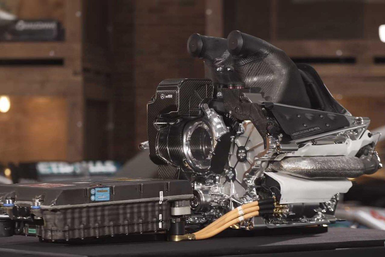 メルセデスF1、2021年型のF1エンジンですでに20馬力アップを達成