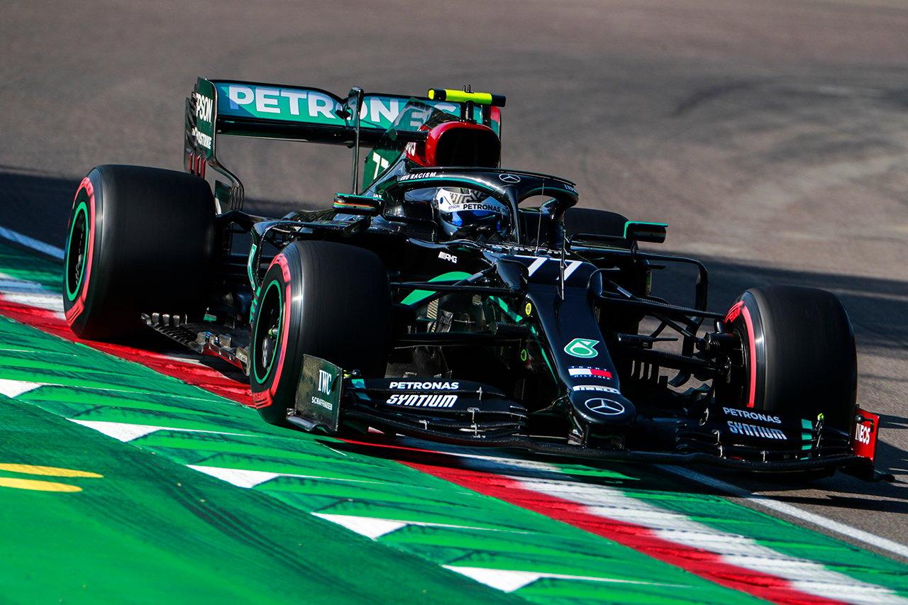 F1エミリア・ロマーニャGP 予選:バルテリ・ボッタスがポールポジション。ホンダF1勢はフェルスタッペン3番手で全4台がトップ8入り