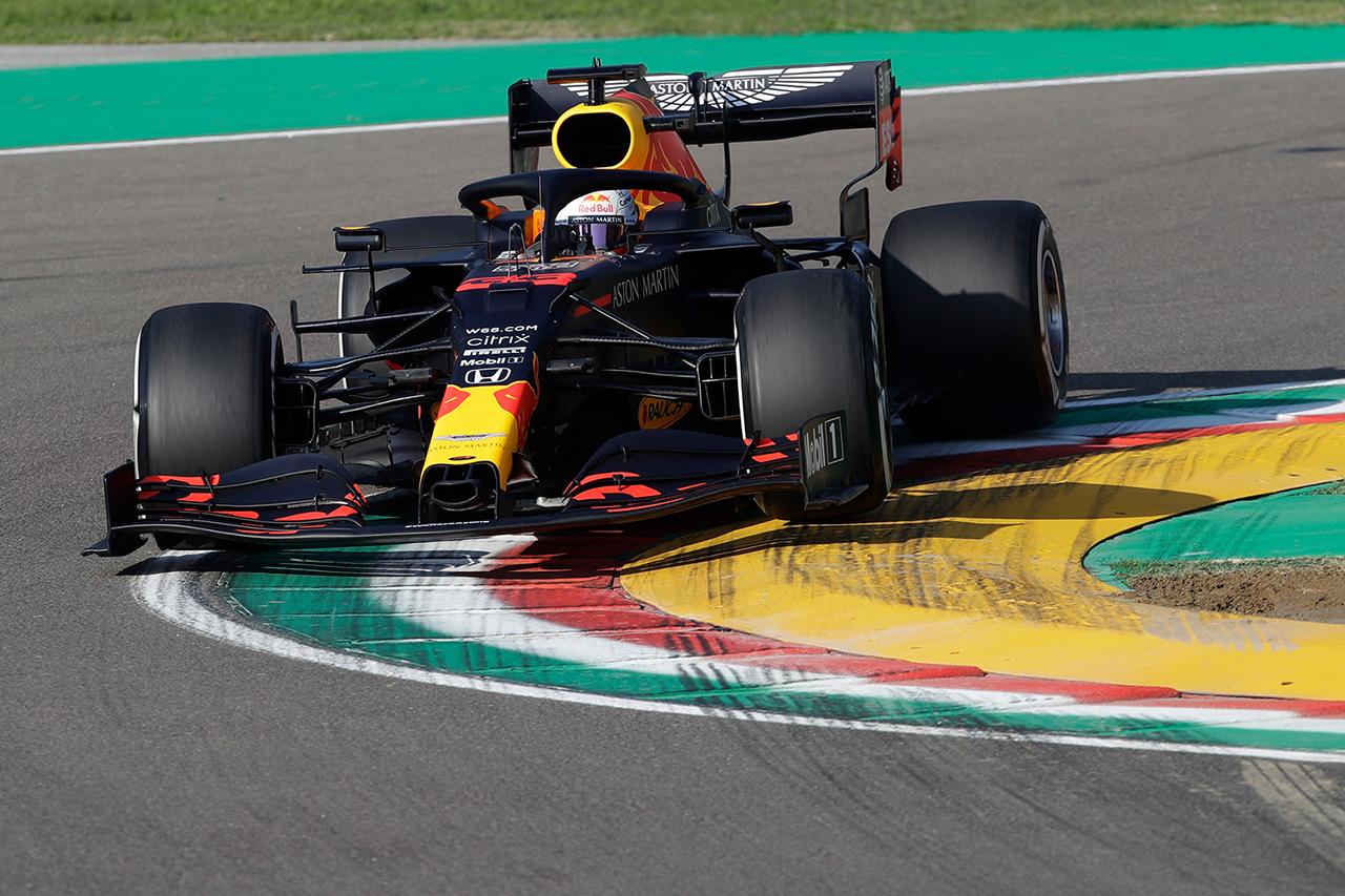 【速報】 F1 第13戦 FP1 結果:マックス・フェルスタッペンは3番手 / F1エミリア・ロマーニャGP