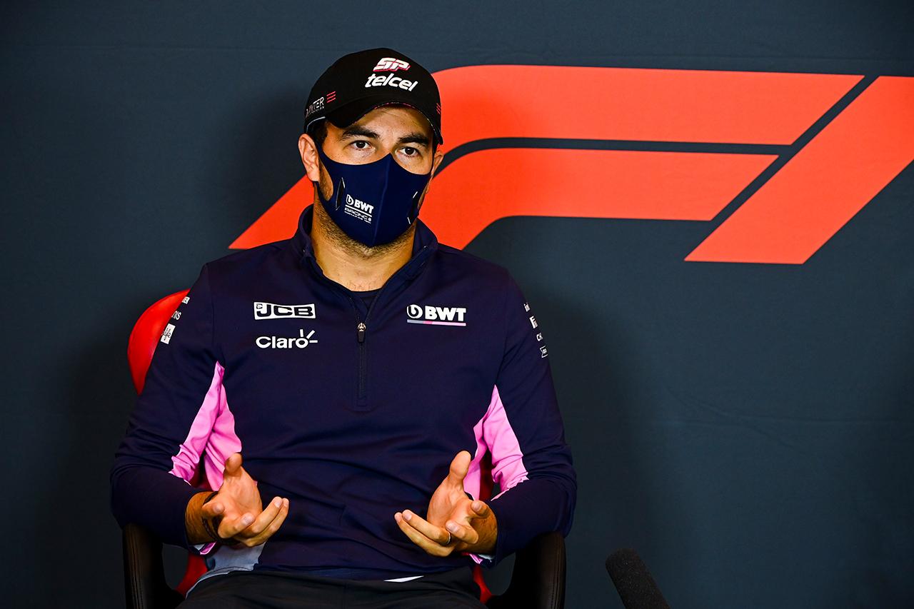 セルジオ・ペレス 「レッドブルF1は唯一の選択肢だが長くは待てない」 / F1エミリア・ロマーニャGP 金曜記者会見