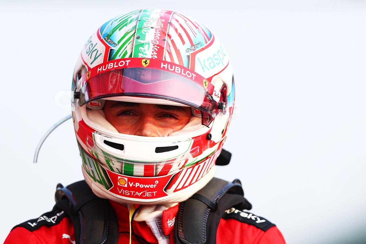 シャルル・ルクレール 「ピエール・ガスリーの走りは素晴らしかった」 / フェラーリ F1エミリア・ロマーニャGP 予選