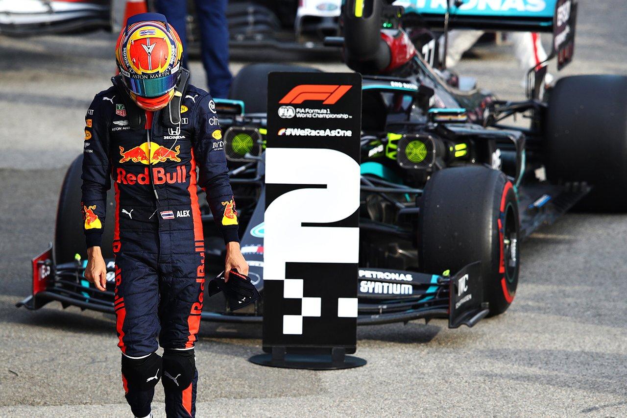 アレクサンダー・アルボン、最下位15位は「実力を表したものではない」 / レッドブル・ホンダ F1エミリア・ロマーニャGP 決勝