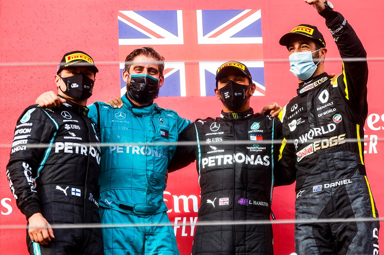 F1エミリア・ロマーニャGP 決勝:トップ10 ドライバーコメント