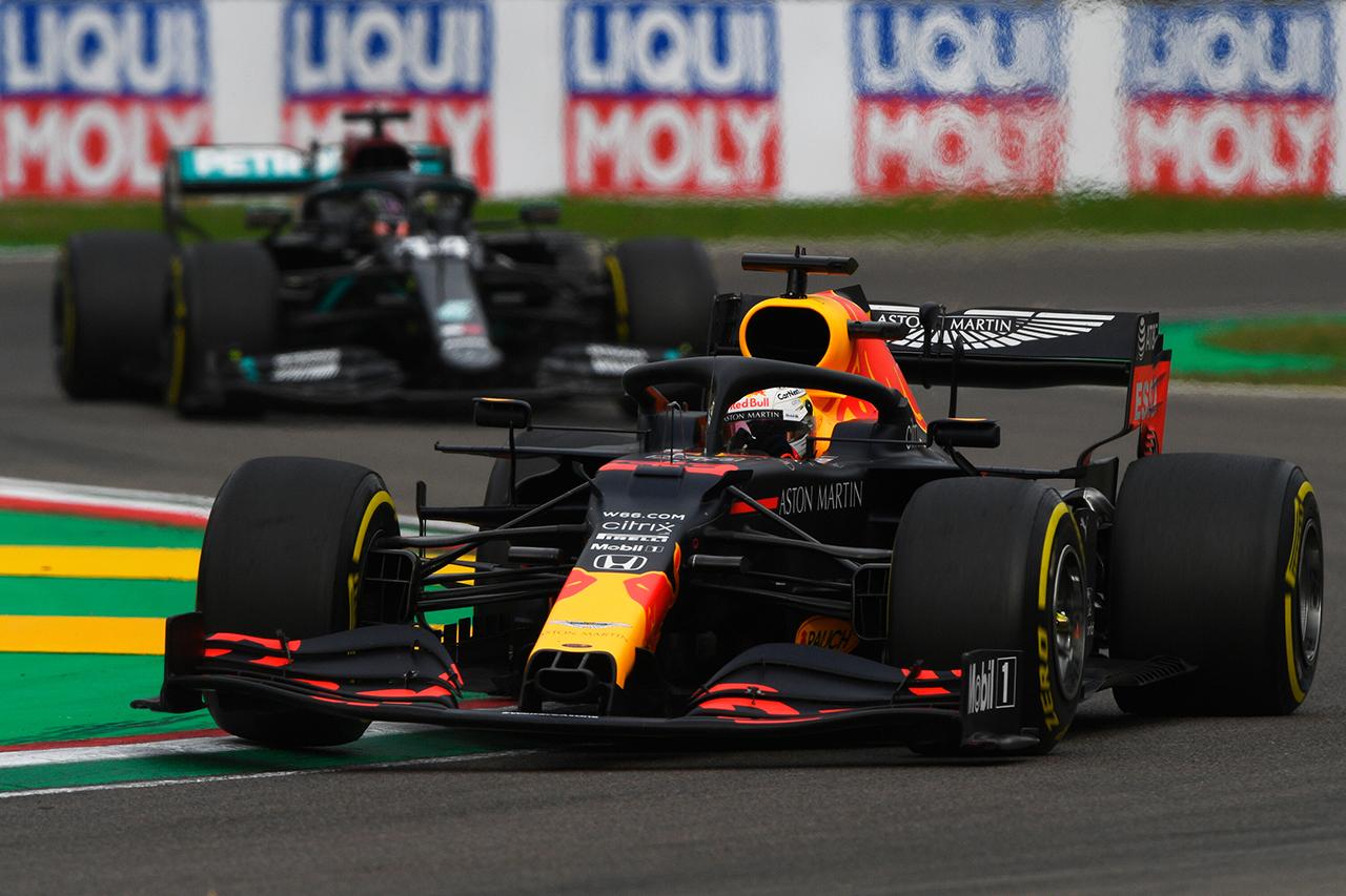 レッドブル・ホンダF1 分析:パワー不足とアレクサンダー・アルボンの穴 / F1エミリア・ロマーニャGP 決勝