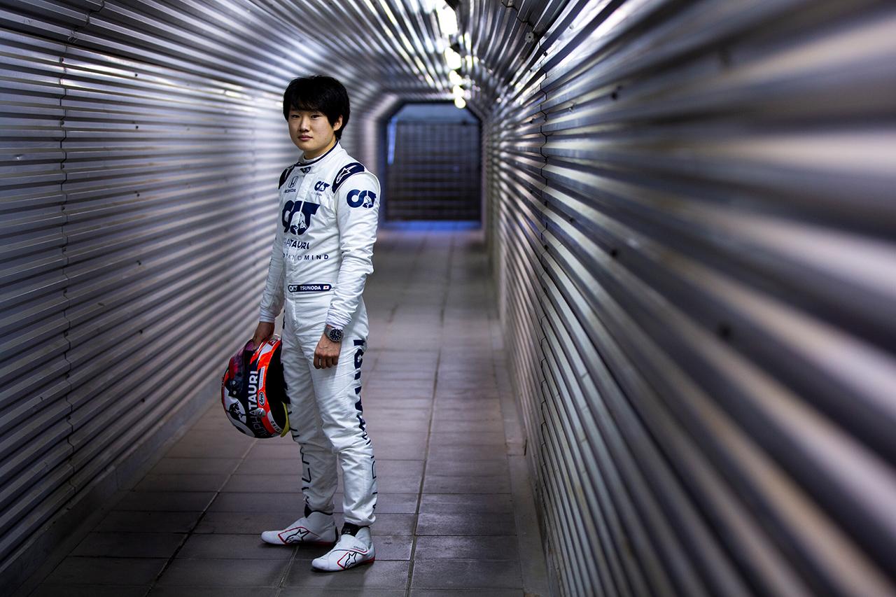 角田裕毅 「小林可夢偉が鈴鹿で表彰台を獲得するのをテレビで見ていた」 / アルファタウリ・ホンダ F1テスト後のコメント