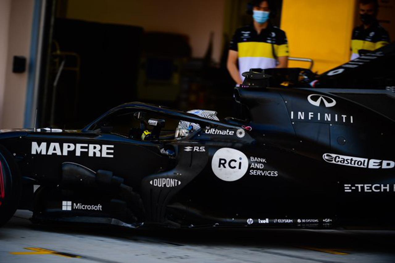 フェルナンド・アロンソ、ルノーF1『R.S.18』で合計186周を走破