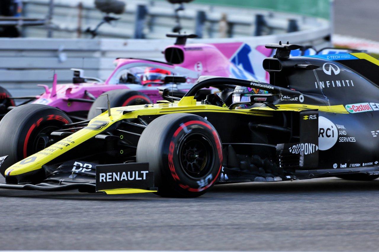 ルノーF1 「レーシング・ポイントが3位争いのチームのなかで最速」