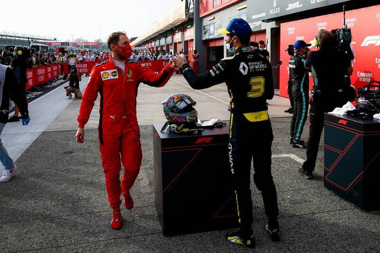 ダニエル・リカルド 「今一番F1ヘルメットを交換したいのはベッテル」