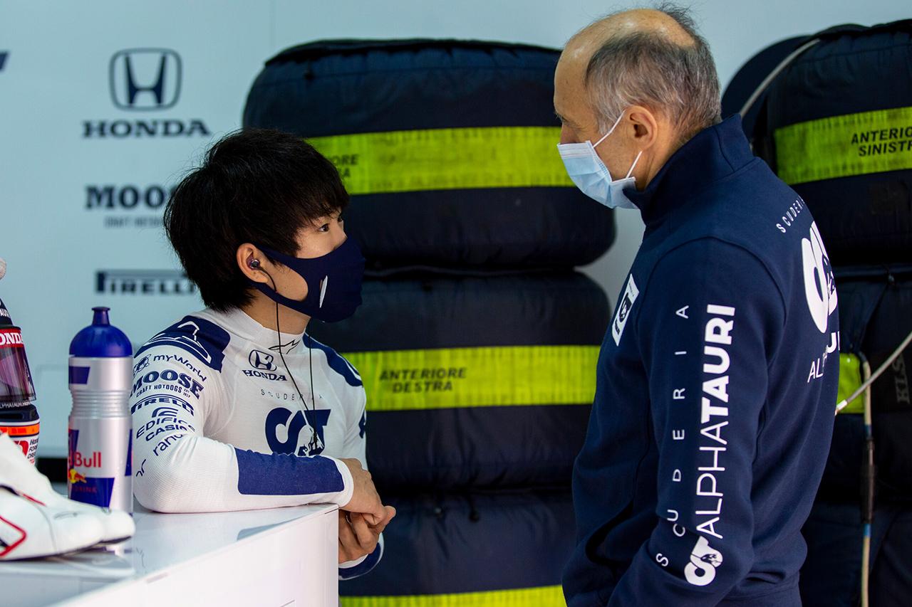 アルファタウリF1代表、角田裕毅を評価「速くなければテストなどしない」