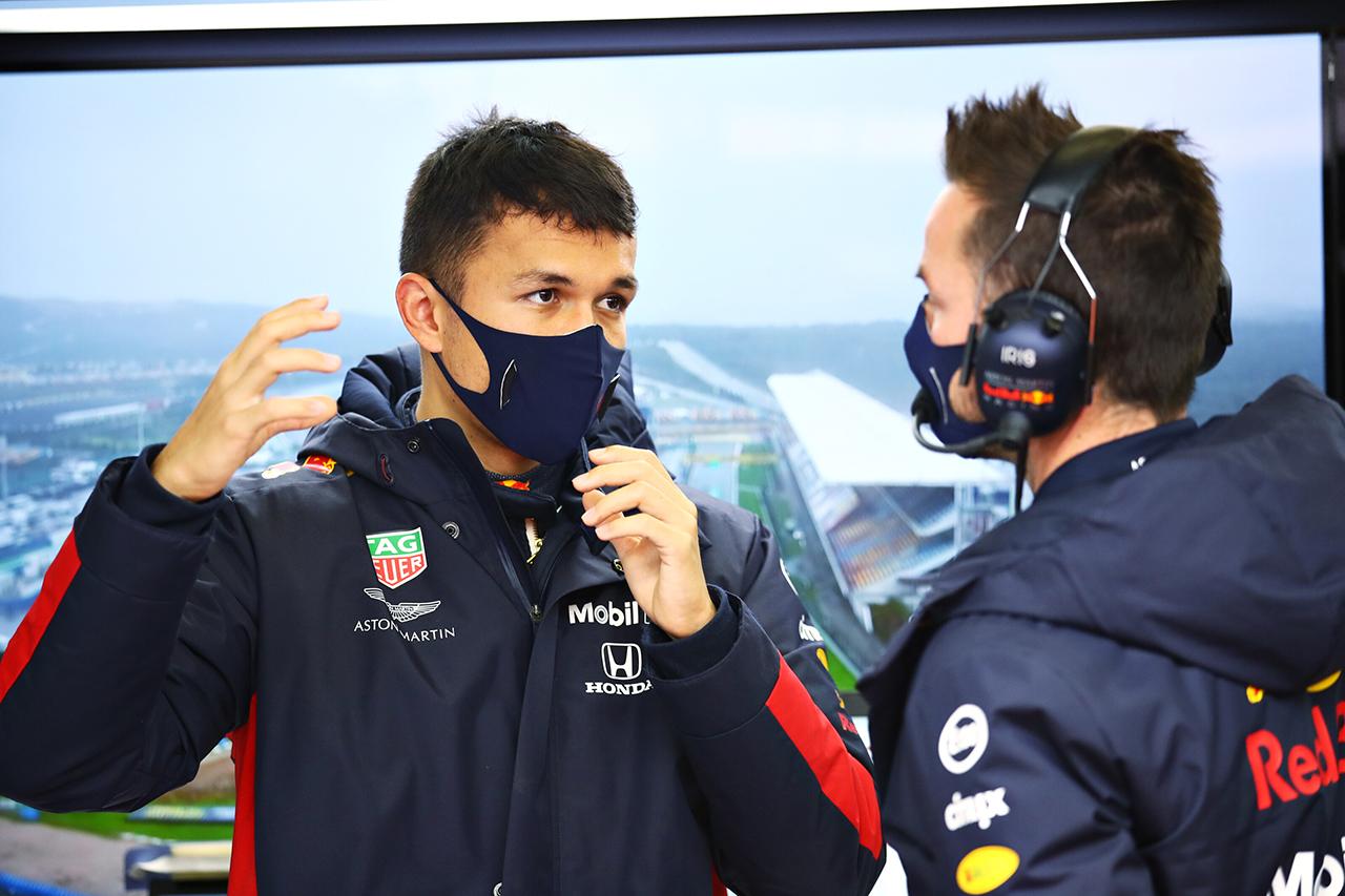 アレクサンダー・アルボン、予選4番手は「残念な部分もある」 / レッドブル・ホンダ F1トルコGP 予選