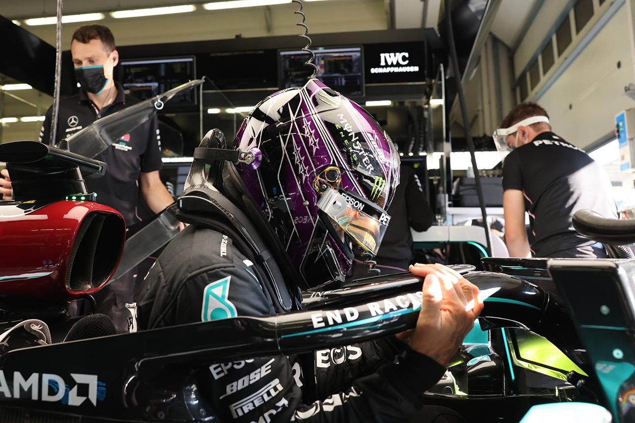 ルイス・ハミルトン、予選6番手も「今日走らせられる最速だった」 / メルセデス F1トルコGP 予選