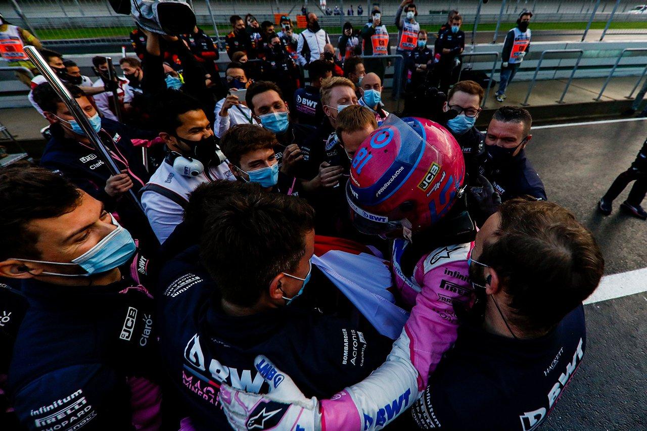 レーシング・ポイントF1代表 「ストロールのポールは運ではなく実力」 / F1トルコGP 予選