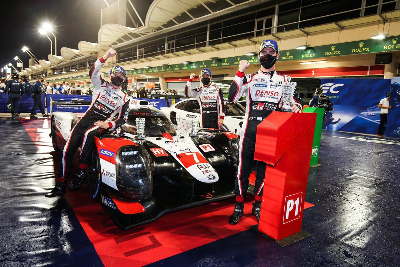 WEC 第8戦 バーレーン8時間 決勝:トヨタ7号車がチャンピオン獲得!TS050 HYBRIDは1-2フィニッシュで有終の美