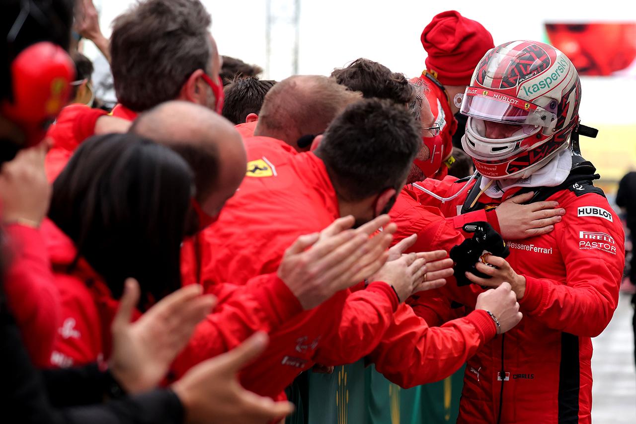 シャルル・ルクレール 「最後に自分ですべてをゴミ箱に捨ててしまった」 / フェラーリ F1トルコGP 決勝