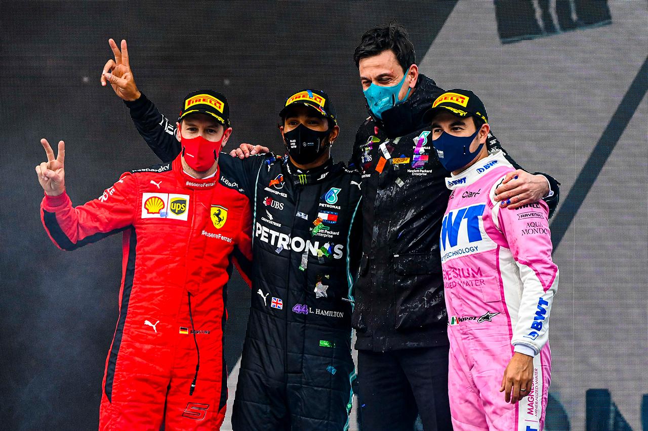 F1トルコGP 決勝:トップ10 ドライバーコメント