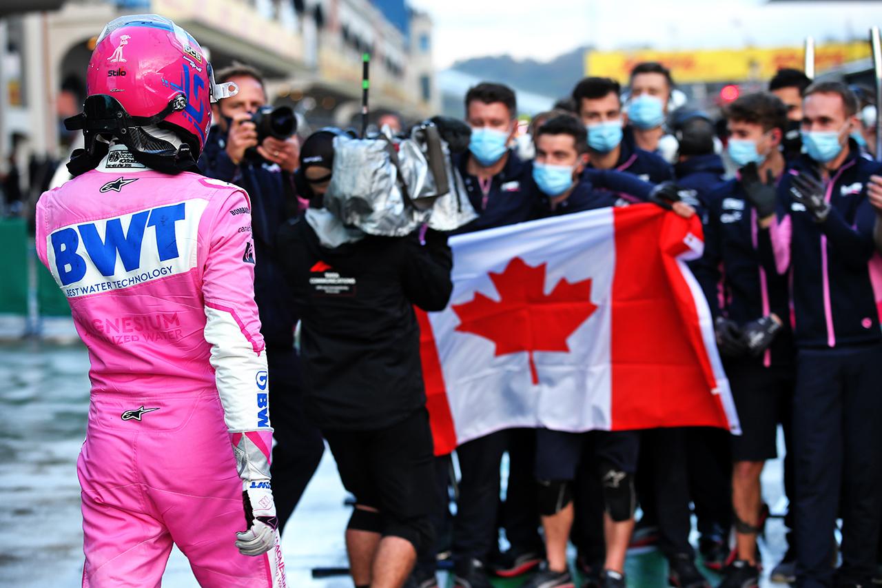 流石のジャック・ヴィルヌーヴもランス・ストロールのF1初ポールは称賛