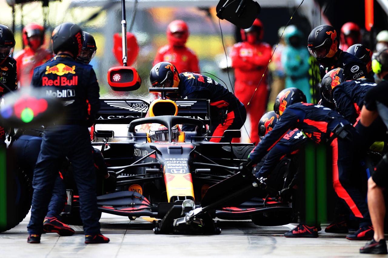 マックス・フェルスタッペン 「スタートでエンジンの振動が酷かった」 / レッドブル・ホンダ F1トルコGP 決勝
