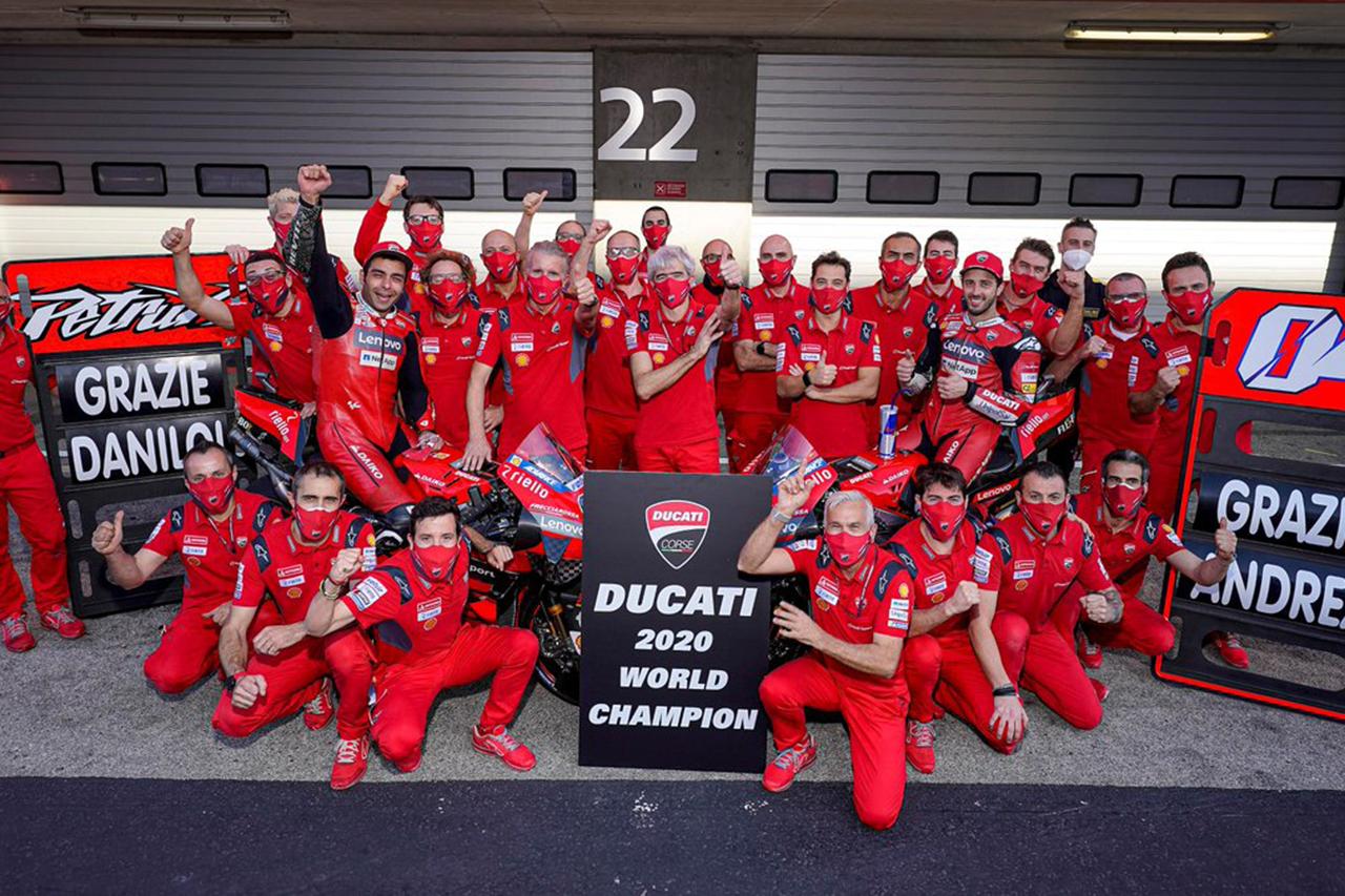 MotoGP:ドゥカティ、13年ぶり2度目のコンストラクターズタイトル獲得