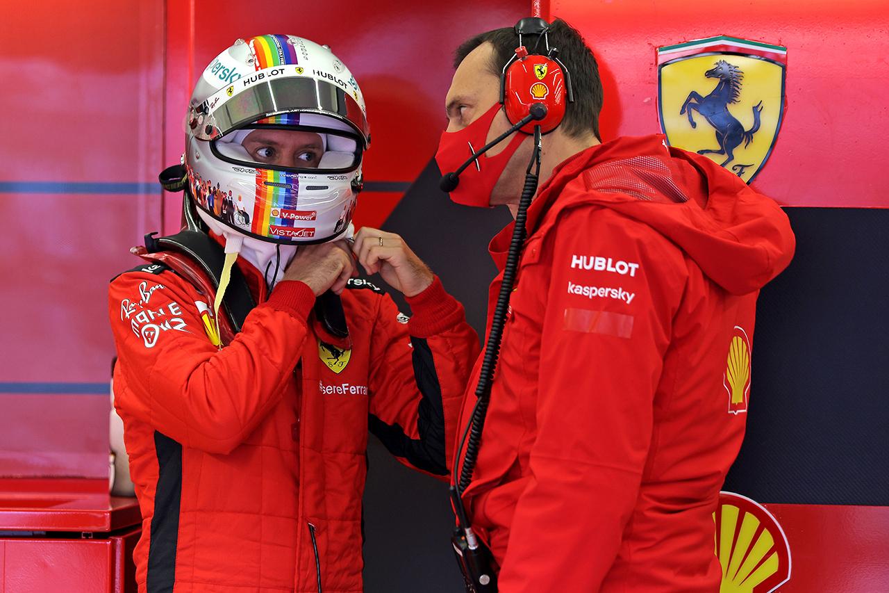セバスチャン・ベッテル 「フェラーリF1の問題はエンジンではない」