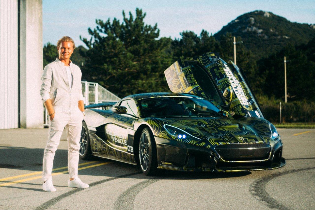 ニコ・ロズベルグ、電動ハイパーカー『リマック C_Two』を購入 / 元F1ワールドチャンピオン