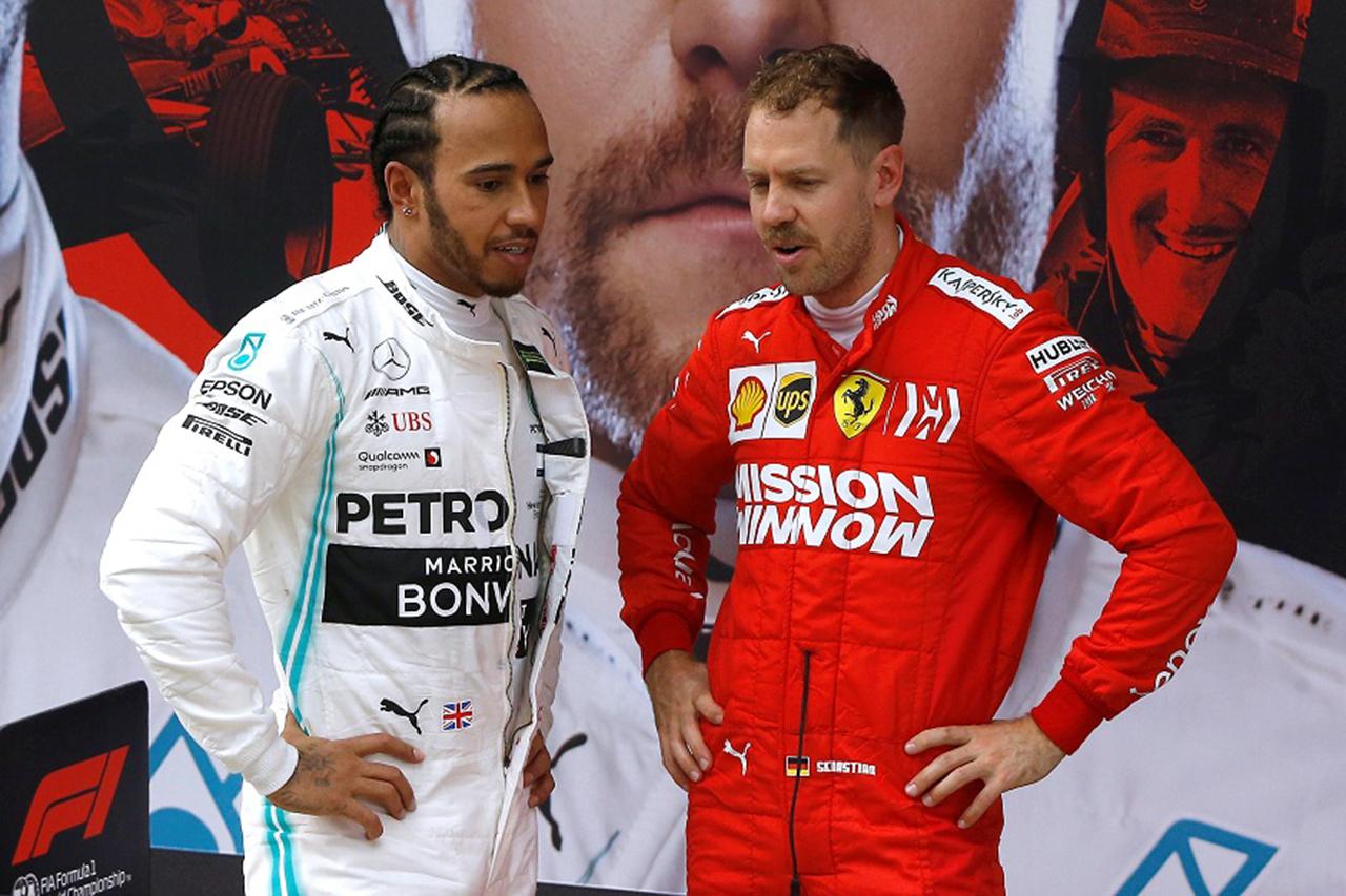 レッドブルF1首脳が説明するハミルトンとベッテルのタイトル連覇の違い