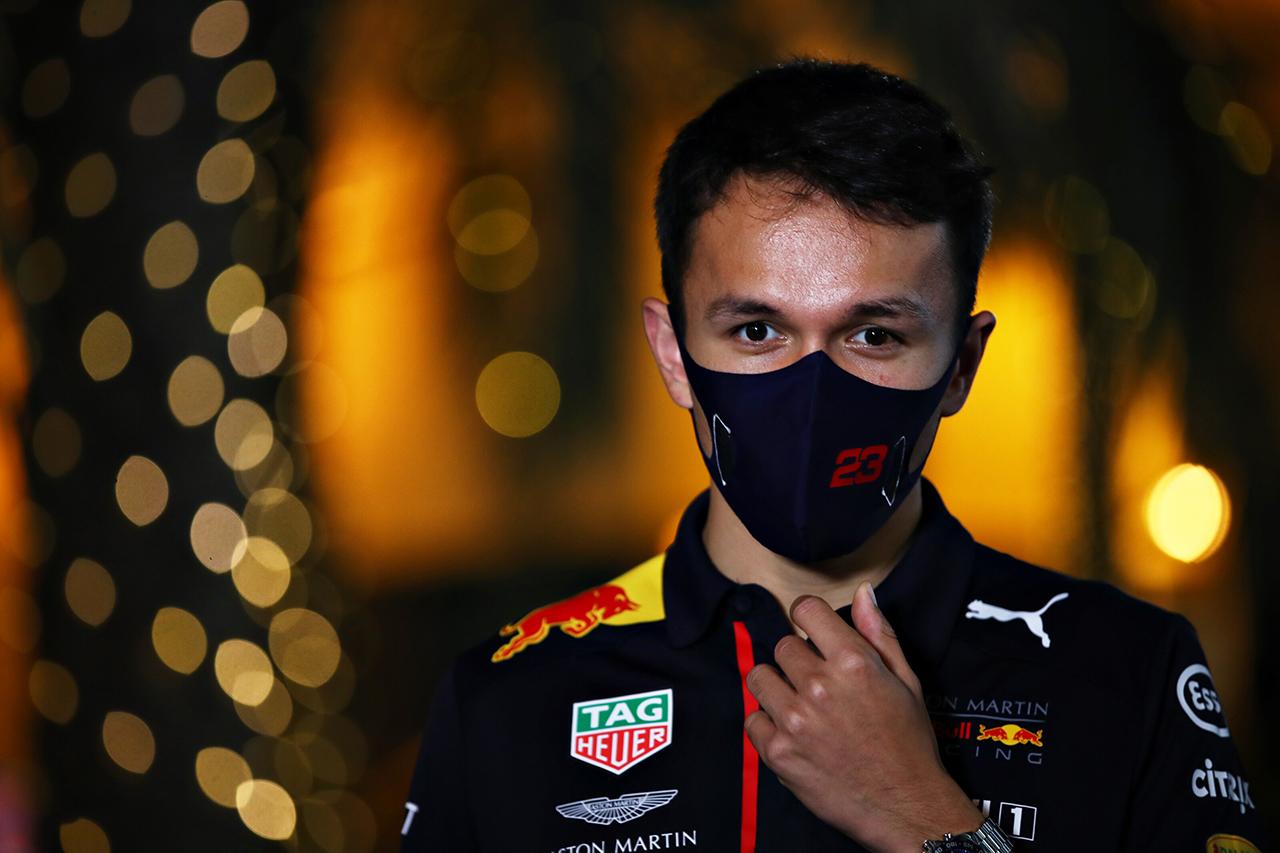 アレクサンダー・アルボン 「自分の実力を示すレースはまだ3戦ある」 / レッドブル・ホンダ F1バーレーンGP 木曜記者会見