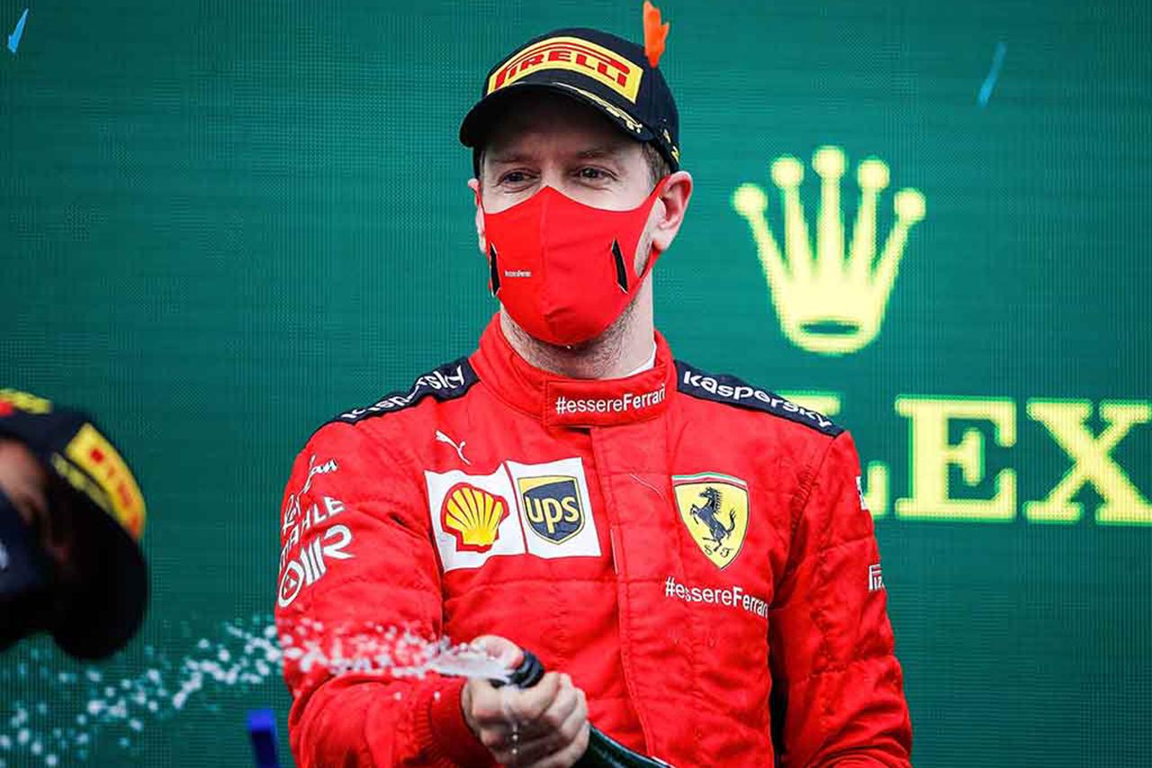 Photo of ベッテル「アストンマーティンF1に初めてシャンパンを味わい合わせる」/ F1バーレーンGP木曜日の記者会見[F1-Gate.com]