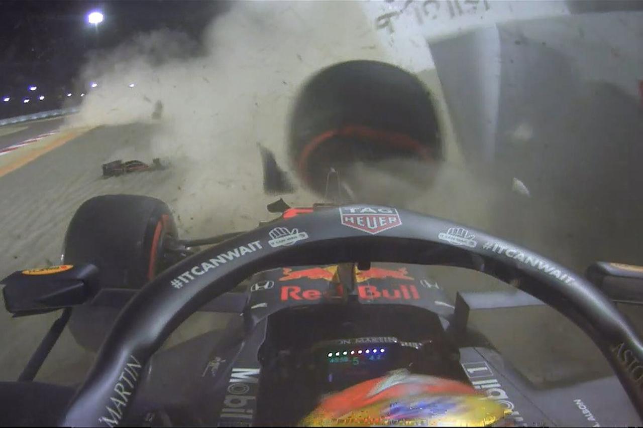 【動画】 レッドブルF1のアレクサンダー・アルボンが大クラッシュ / F1バーレーンGP フリー走行2回目