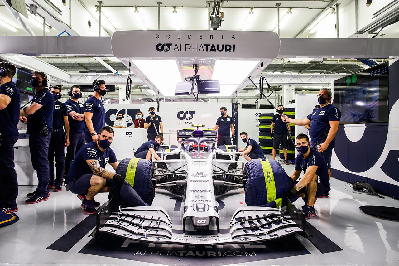 アルファタウリ・ホンダF1 「変更によってマシンは期待通りに改善した」 / F1バーレーンGP 金曜フリー走行
