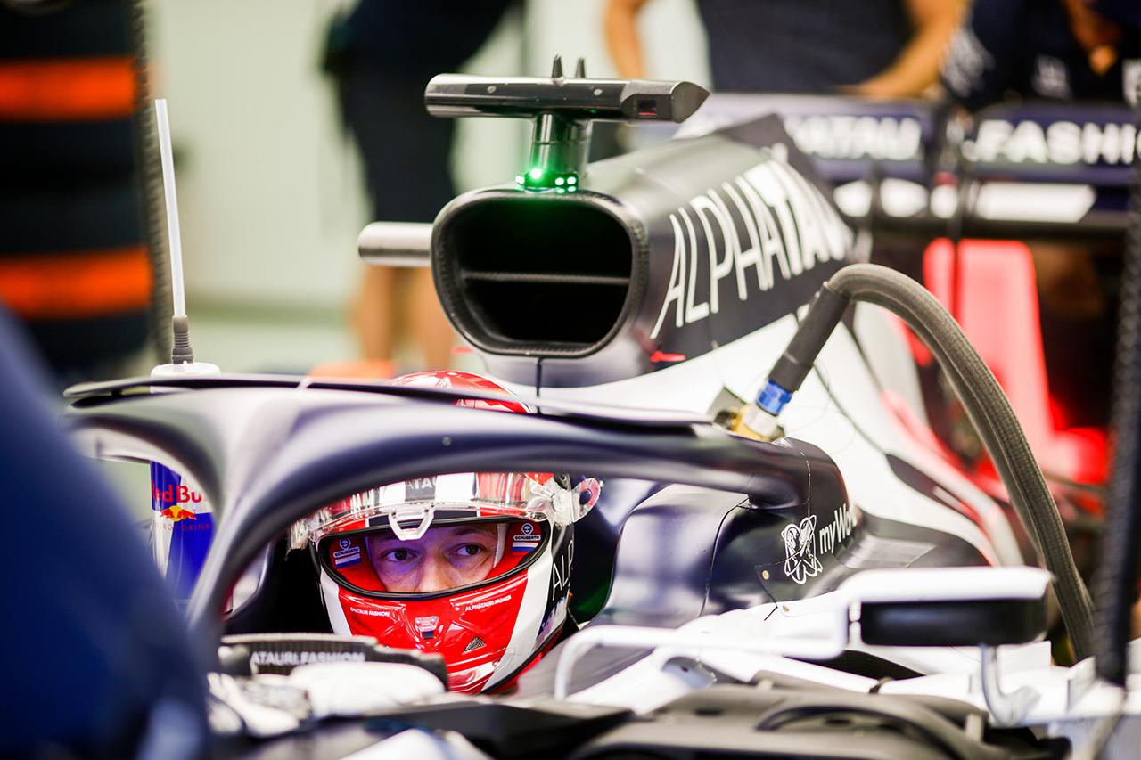 ダニール・クビアト 「進むべき方向性は理解。もう一段向上させたい」 / アルファタウリ・ホンダ F1バーレーンGP 金曜フリー走行