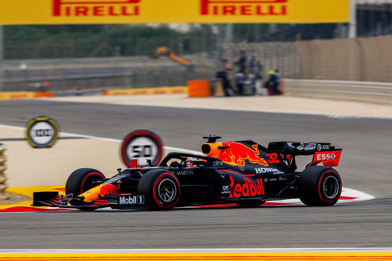 F1バーレーンGP フリー走行3回目:レッドブルF1のフェルスタッペン首位。ホンダF1勢は全4台がトップ10入り