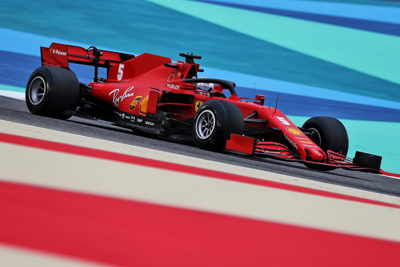 セバスチャン・ベッテル、新F1タイヤは「再び目にしないことを願う」 / F1バーレーンGP 金曜フリー走行
