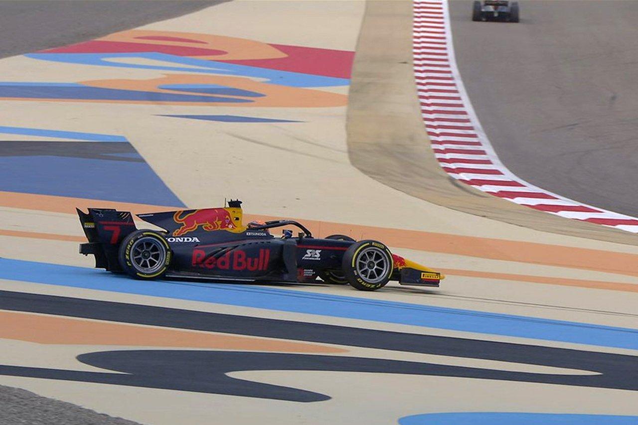 ホンダF1育成の角田裕毅、予選でスピンを喫してレース1は最後尾スタート / FIA-F2 第11戦 バーレーン