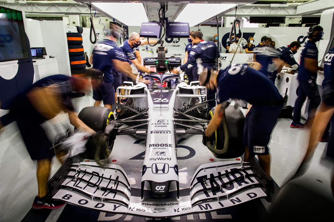 ダニール・クビアト 「フロントウイングのセッティングがわずかに悪かった」 / アルファタウリ・ホンダ F1バーレーンGP 予選