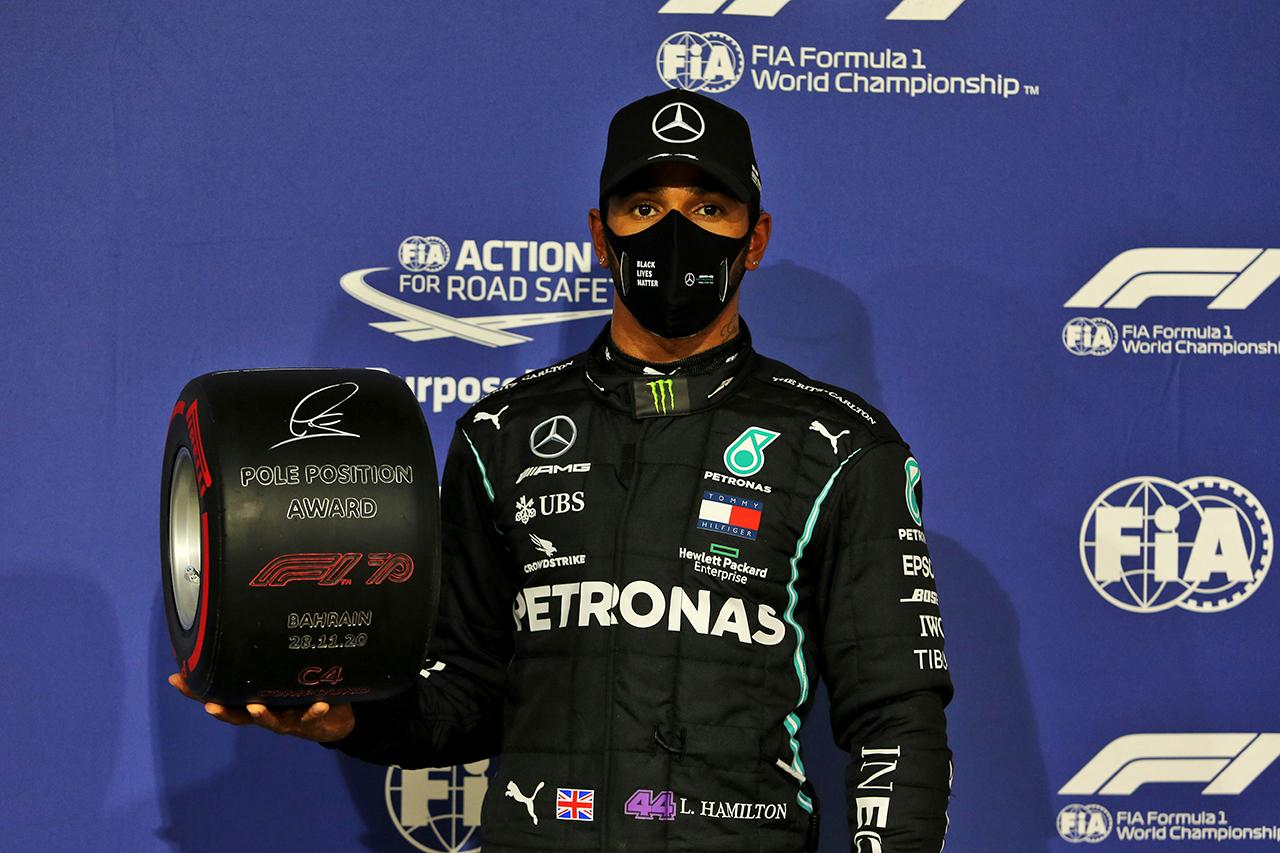 ルイス・ハミルトン、王座獲得の解放感「とにかく楽しもうと思った」 / メルセデス F1バーレーンGP 予選