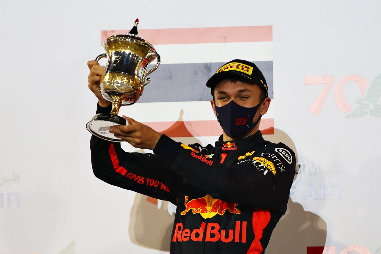 アレクサンダー・アルボン、3位表彰台「運の要素があったことは否定しない」 / レッドブル・ホンダ F1バーレーンGP 決勝