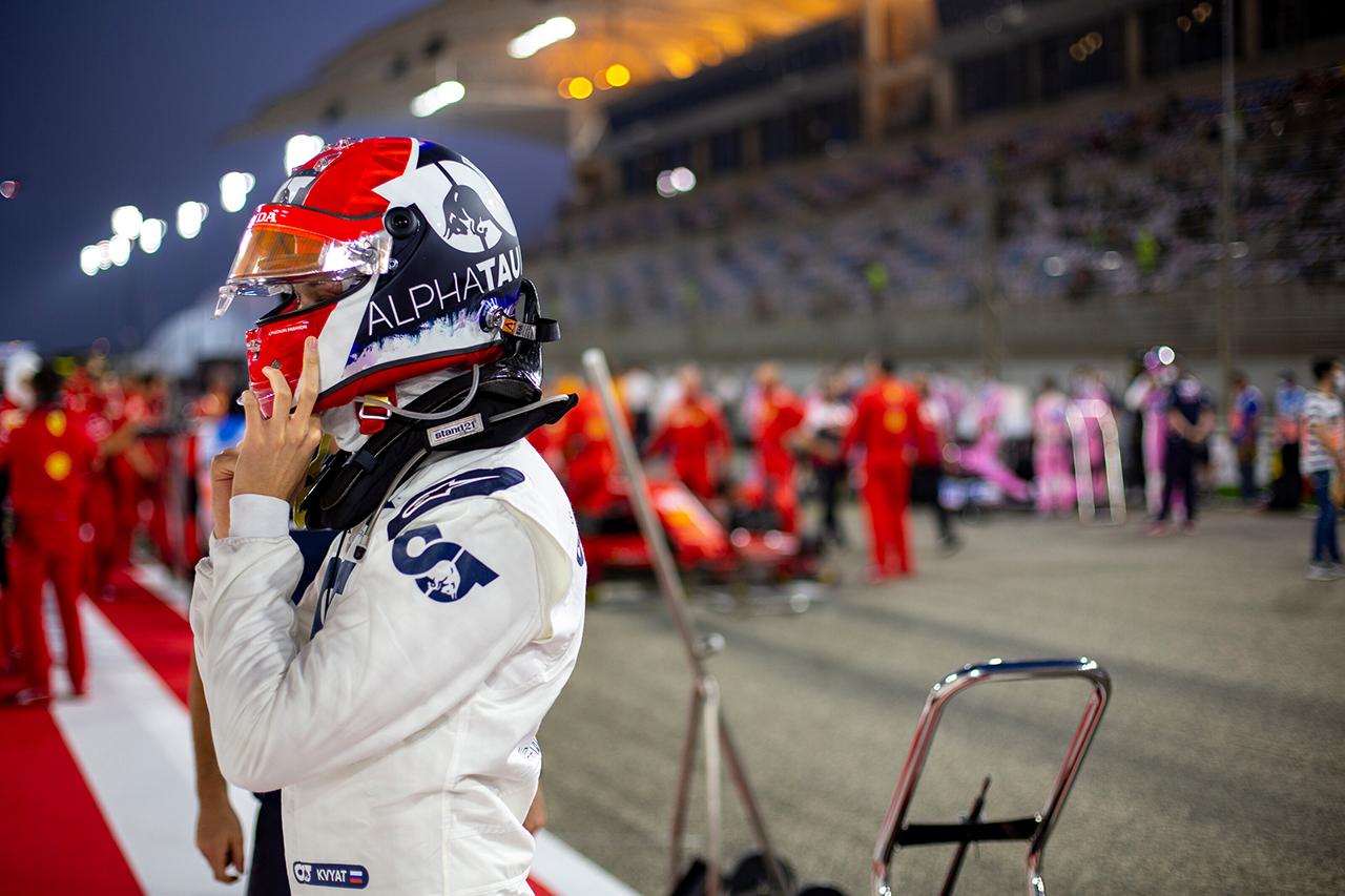 ダニール・クビアト 「最初はグロージャンに怒りを感じたけど…」 / アルファタウリ・ホンダ F1バーレーンGP 決勝