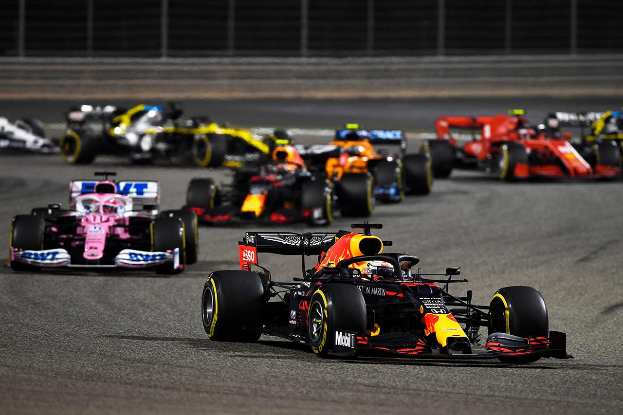 【速報】 F1バーレーンGP 結果:マックス・フェルスタッペンが2位表彰台…アルボンも3位でレッドブル・ホンダF1がダブル表彰台