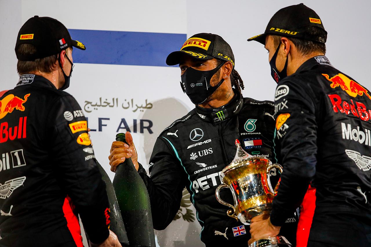 F1バーレーンGP 決勝:トップ10 ドライバーコメント