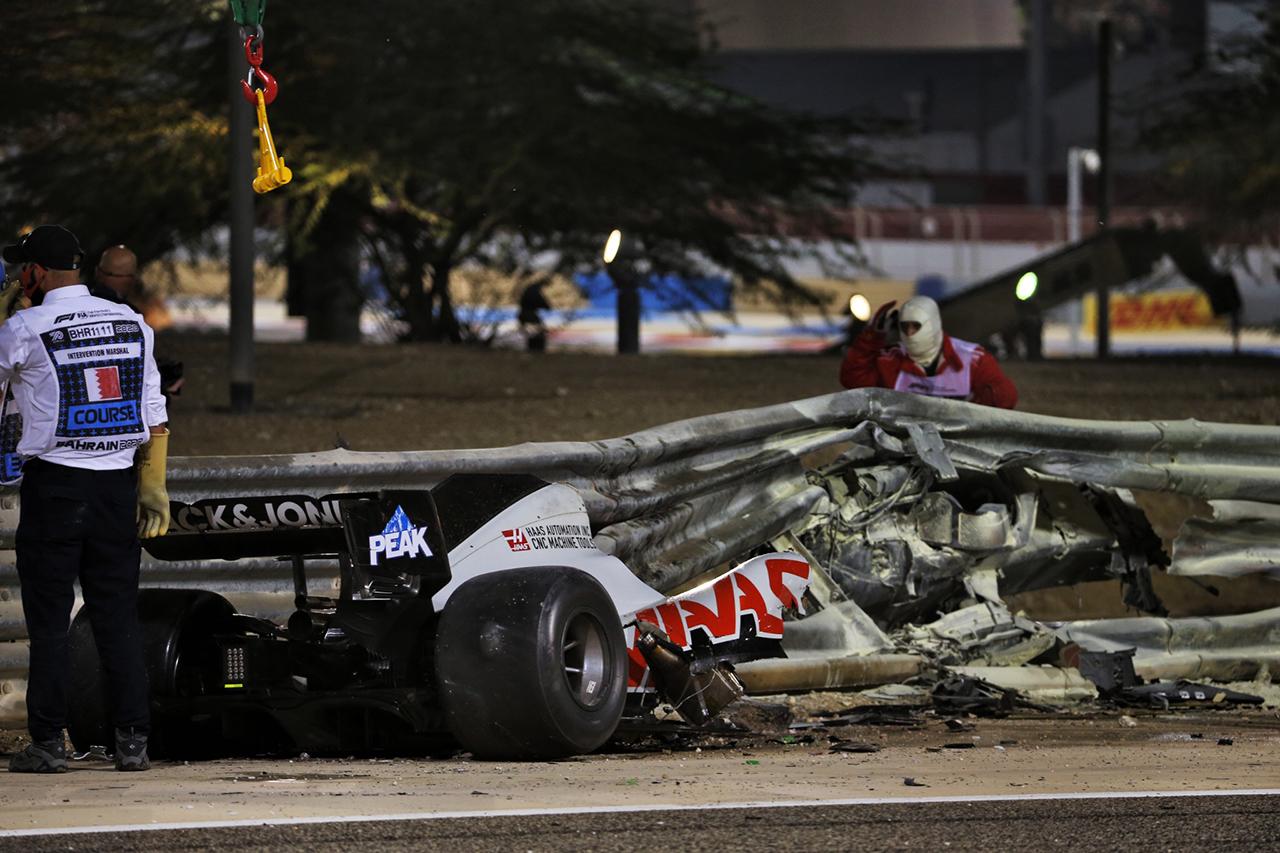 ロス・ブラウン 「ヘイローはロマン・グロージャンの命の恩人」 / F1バーレーンGP 決勝