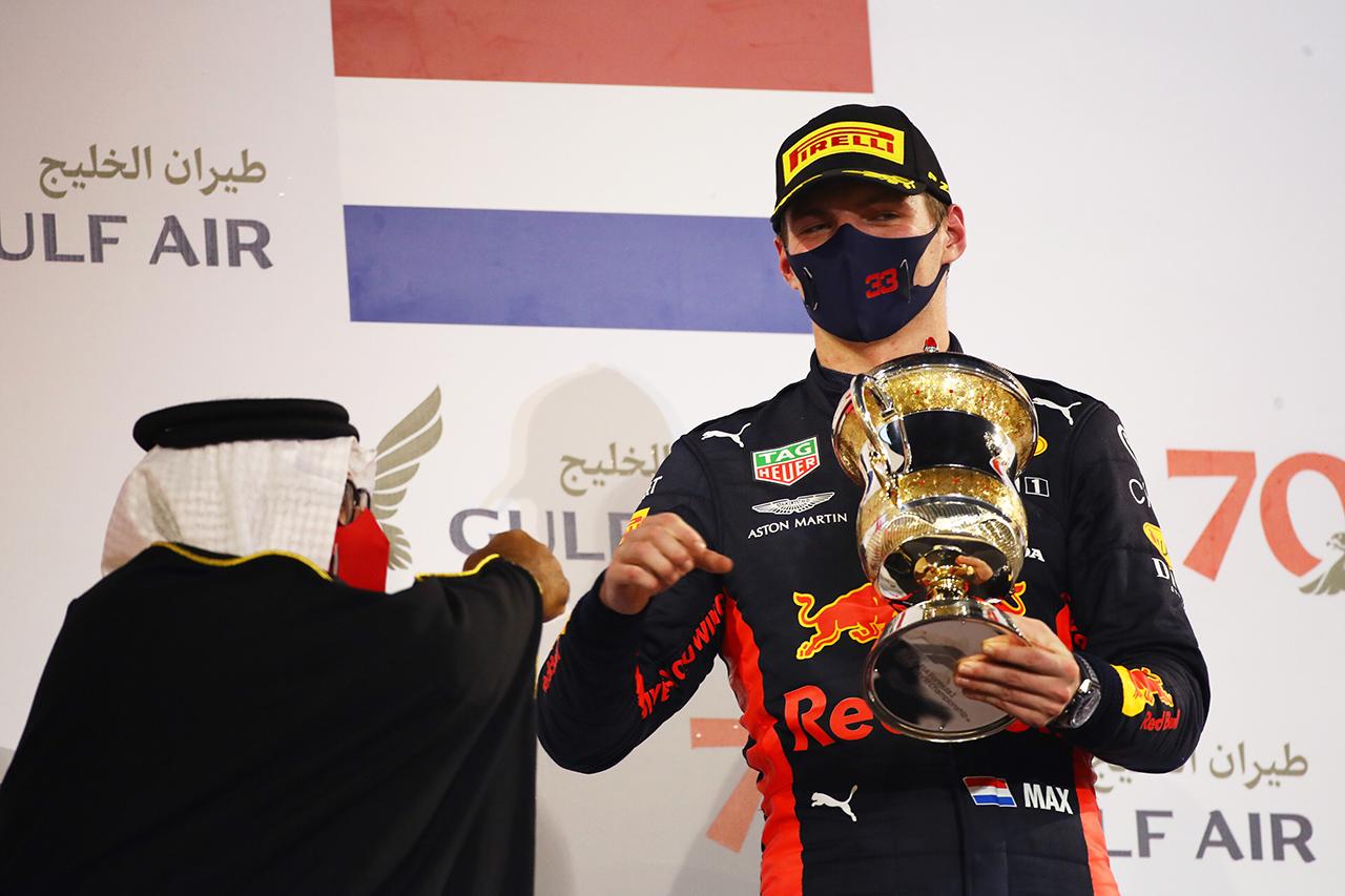 マックス・フェルスタッペン、2位表彰台「あれ以上できることはなかった」 / レッドブル・ホンダ F1バーレーンGP 決勝
