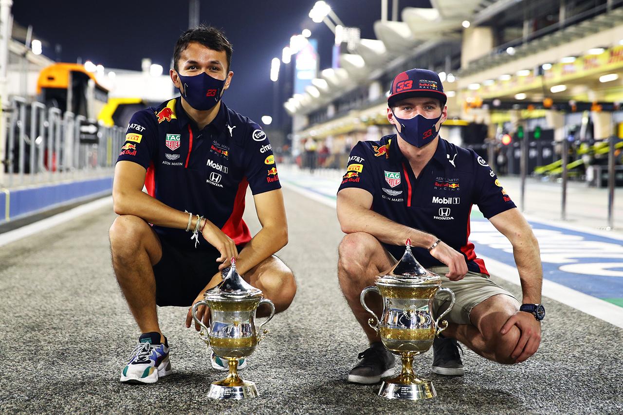 レッドブル・ホンダF1、3年ぶりのダブル表彰台でランキング2位が確定 / F1バーレーンGP 決勝