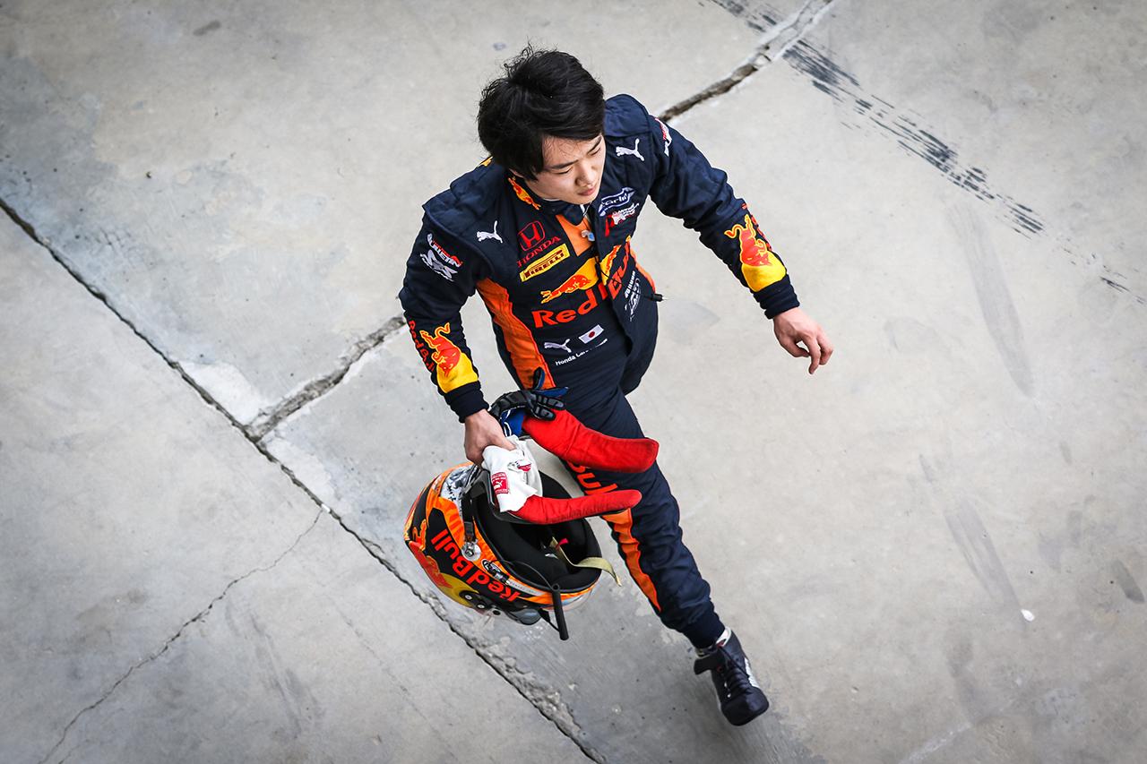 角田裕毅、ランキング5位後退も気負いなし「好結果を出せるよう頑張る」 / FIA-F2 第11戦 バーレーン大会 レース2