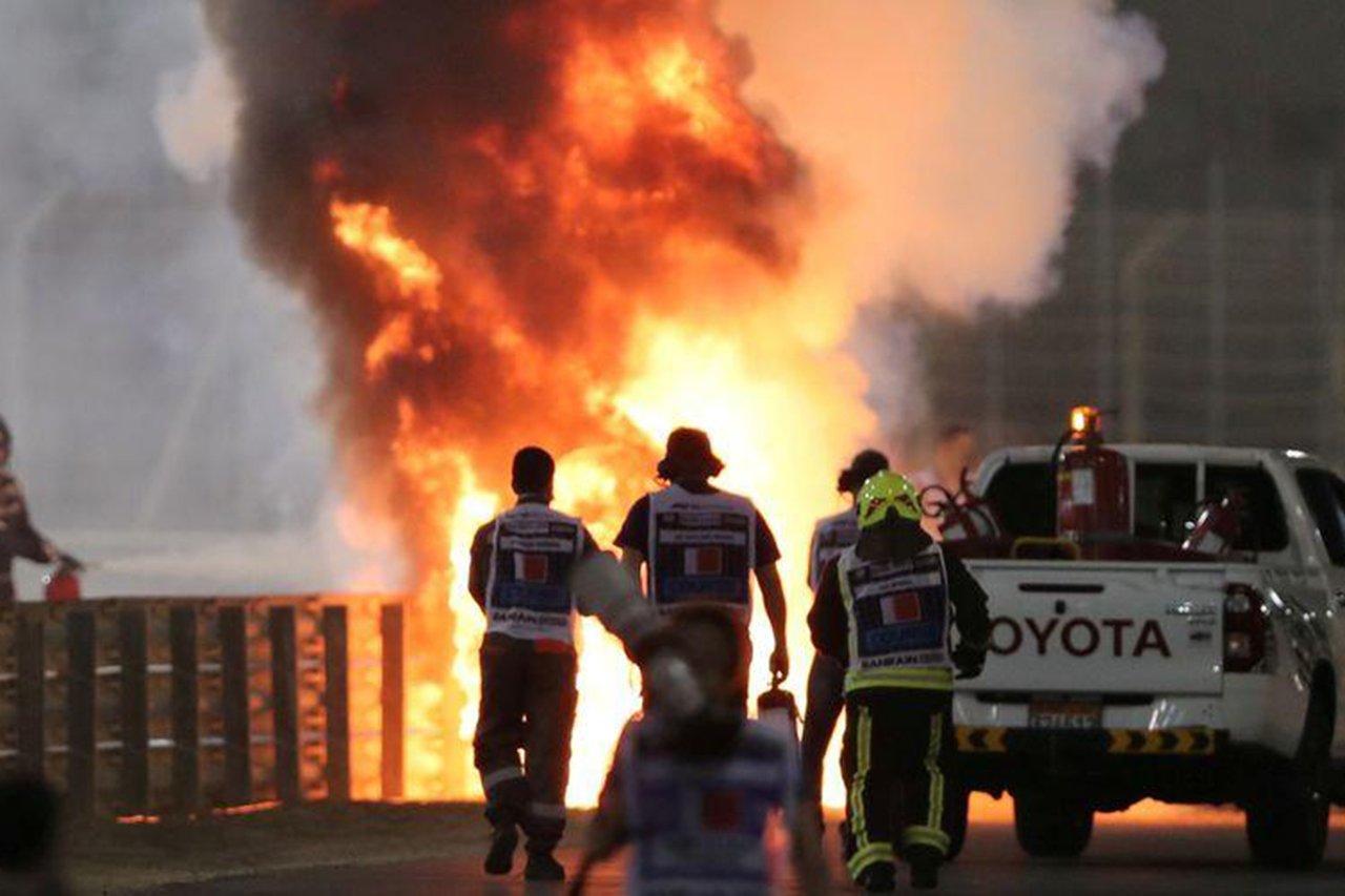 ロマン・グロージャンを救った医療チーム「我々はヒーローなどではない」 / F1バーレーンGP