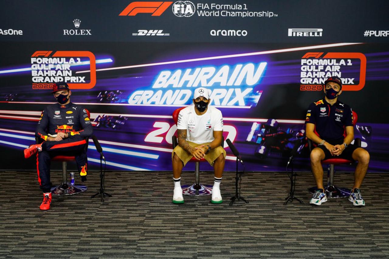 フェルスタッペン 「事故を見てレースを欠場するようなドライバーは解雇」 / レッドブル・ホンダ F1バーレーンGP後 記者会見
