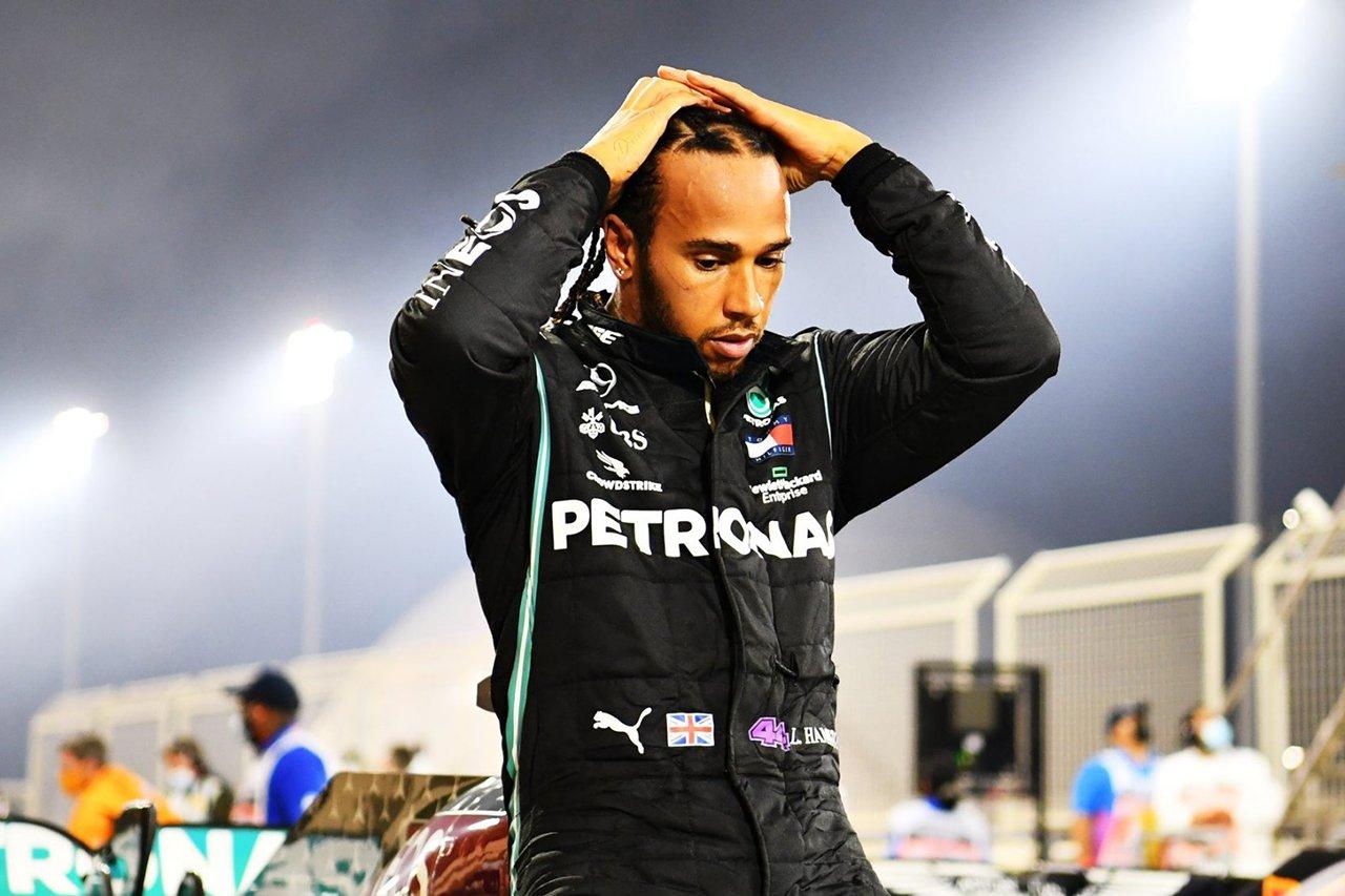 ルイス・ハミルトン、F1サヒールGP欠場で「悲しみに打ちひしがれている」 / 新型コロナウイルスに感染