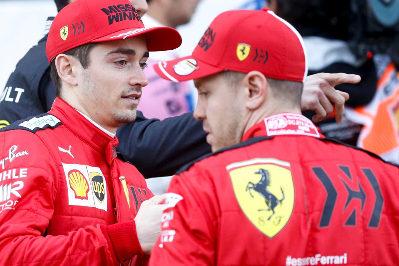 セバスチャン・ベッテル、ルクレールに激怒して話し合いで解決 / フェラーリF1