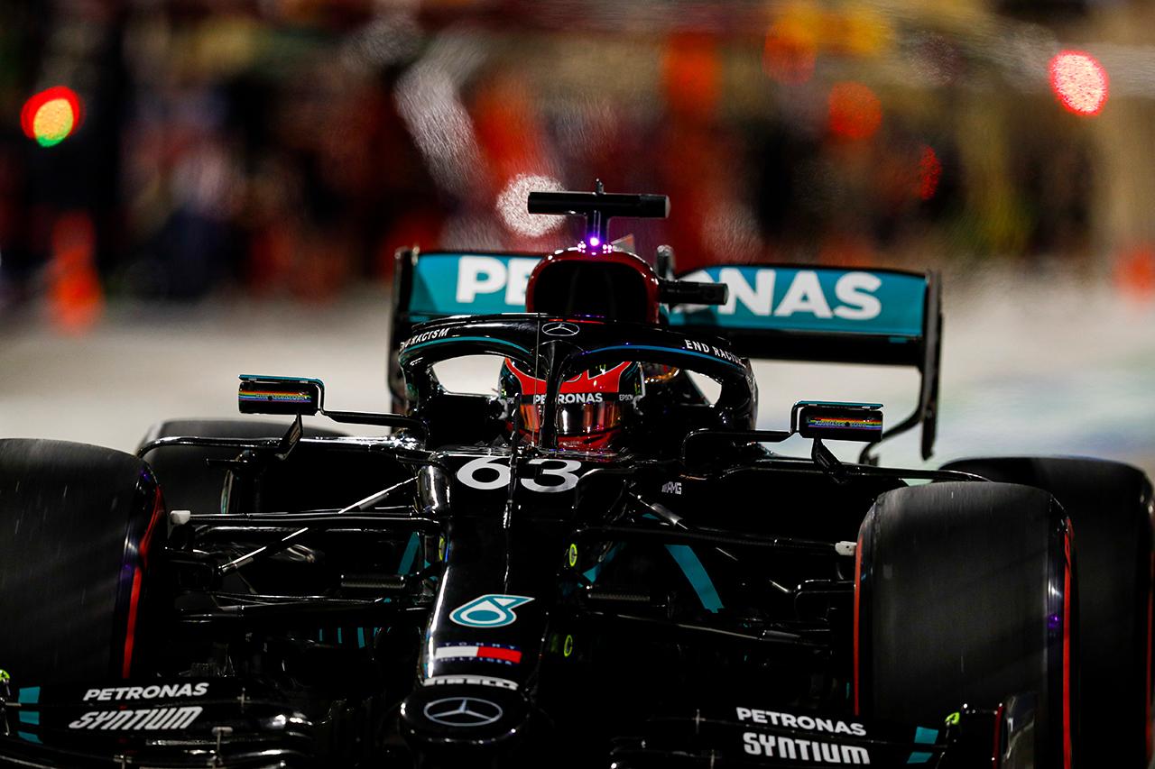 マックス・フェルスタッペン 「ラッセルはいきなり勝つかもしれない」 / レッドブル・ホンダ F1サヒールGP