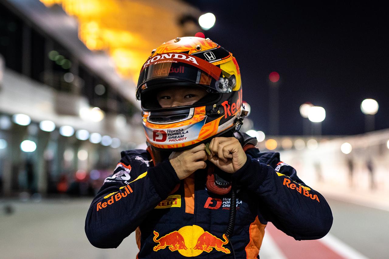 角田裕毅、4回目のポールポジション「自信はある。いい結果を出したい」 / FIA-F2 最終戦バーレーン 予選